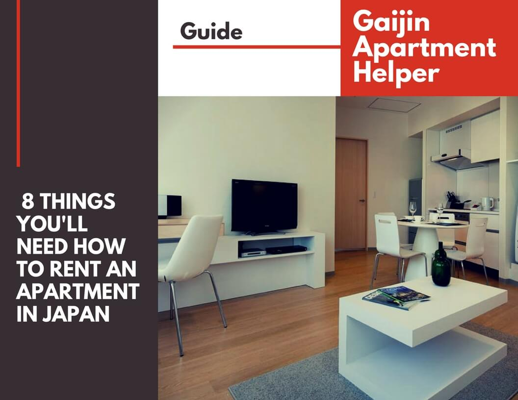 What Youu0027ll Need To Rent An Apartment In Japan