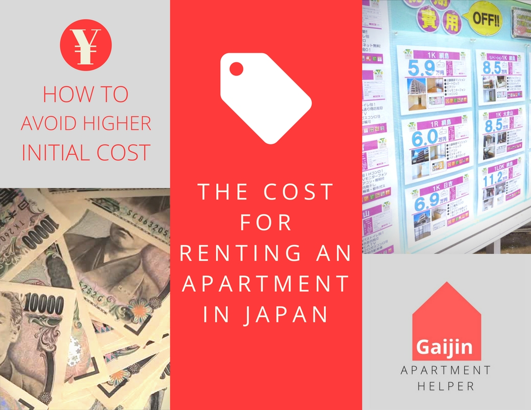 The Cost for Apartments in Japan | How to Avoid High Upfront