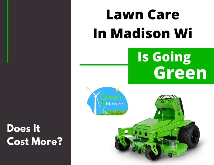 Madison Wisconsin is going green.