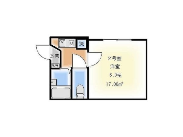 Tobu Skytree line Kanegafuchi station, 1 Bedroom Bedrooms, ,1 BathroomBathrooms,Apartment,Tokyo,Kanegafuchi station,1111