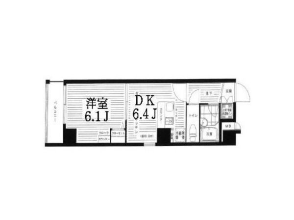 JR Keihin Tohoku line & Minato Mirai line Yamate station, 1 Room Rooms,1 BathroomBathrooms,Apartment,Yokohama,Yamate station,1139