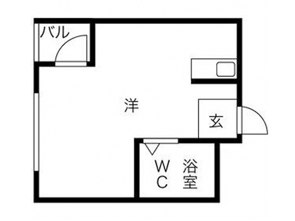 JR line / Hanshin line / JR Tozai line Tsukamoto station, 1 Bedroom Bedrooms, ,1 BathroomBathrooms,Apartment,For Rent,Tsukamoto station,1018