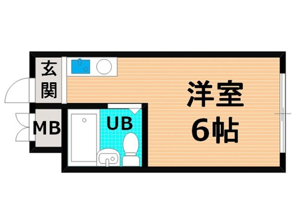 Tanimachi line / JR Osaka-Higashi line Sekime-Takadono station, 1 Bedroom Bedrooms, ,1 BathroomBathrooms,Apartment,For Rent,Sekime-Takadono station,1026