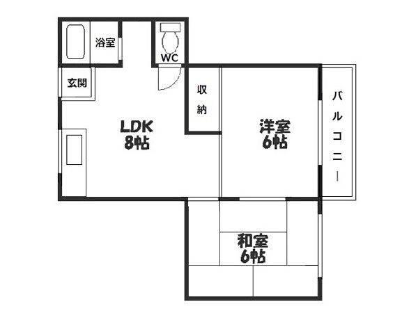 JR Yamatoji line & Subway Sennichimae line Tobushijomae station, 2 Bedrooms Bedrooms, ,1 BathroomBathrooms,Apartment,For Rent,Tobushijomae station ,1042