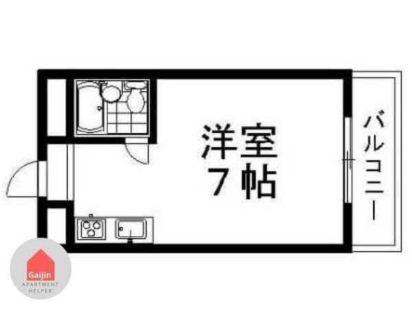 Subway Tanimachi line, Asahi-ku, 1 Bedroom Bedrooms, ,1 BathroomBathrooms,Apartment,Osaka,1451
