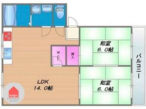 Higashinari-ku, Midoribashi Sta., 2 Bedrooms Bedrooms, ,1 BathroomBathrooms,Apartment,Osaka,1493
