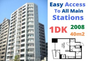 Toei Oedo line, JR Chuo line & JR Sobu line Ryogoku station, 1 Bedroom Bedrooms, ,1 BathroomBathrooms,Apartment,Tokyo,Ryogoku station ,1059