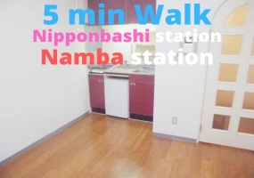 Midosuji line & Sakaisuji Line Namba Station, 1 Bedroom Bedrooms, ,1 BathroomBathrooms,Apartment,For Rent,Namba Station,1061