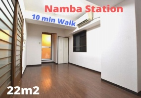 Midosuji line Namba station, 1 Bedroom Bedrooms, ,-1 BathroomBathrooms,Apartment,For Rent,Namba station,1062