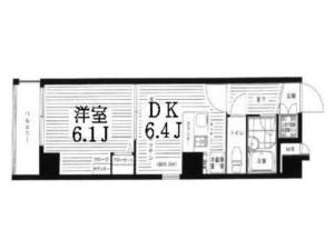 Lines: JR Keihin Tohoku & Minato Mirai, 1 Bedroom Bedrooms, ,1 BathroomBathrooms,Apartment,Tokyo,1551