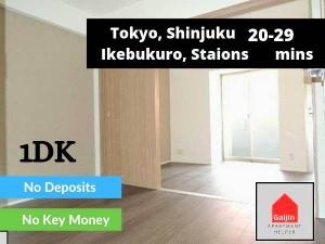 Lines: Tokyo Metro Hibiya & Tsukuba Express, 1 Bedroom Bedrooms, ,1 BathroomBathrooms,Apartment,Tokyo,1563