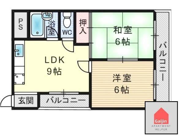 Lines: Hankyu Kobe   Itami-shi, 2 Bedrooms Bedrooms, ,1 BathroomBathrooms,Apartment,Osaka,1580