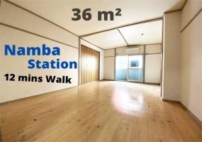 Midosuji line Namba station, 1 Bedroom Bedrooms, ,1 BathroomBathrooms,Apartment,For Rent, Namba station,1068