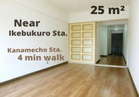 Metro Yurakucho line & Seibu-Ikebukuro line Kanamecho station, 1 Bedroom Bedrooms, 1 Room Rooms,1 BathroomBathrooms,Apartment,Tokyo,Kanamecho station,1076