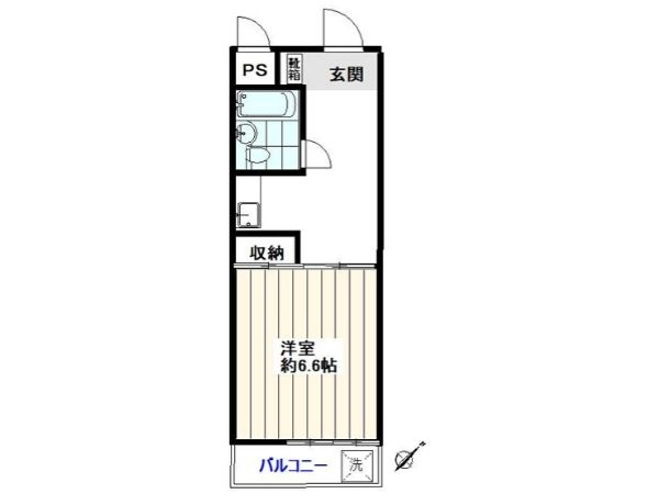 Metro Yurakucho line & Seibu-Ikebukuro line Kanamecho station, 1 Bedroom Bedrooms, 1 Room Rooms,1 BathroomBathrooms,Apartment,Tokyo,Kanamecho station,1076