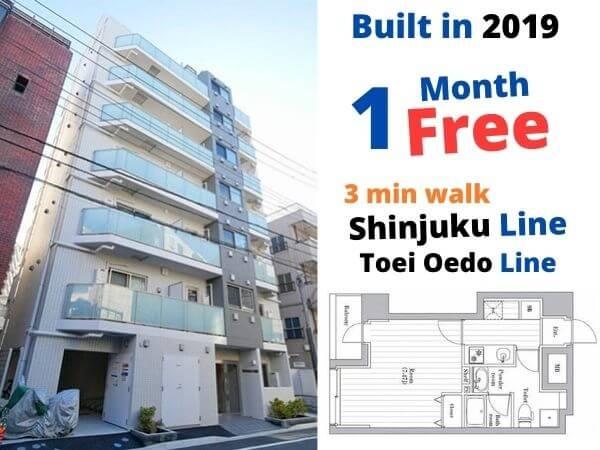 2019 1K, Sumida-ku